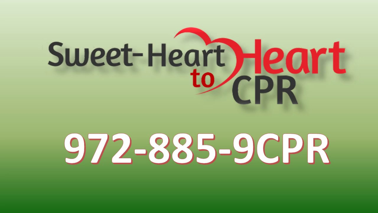 Cpr Training Allen Tx And Plano Tx 972 885 9277 Youtube