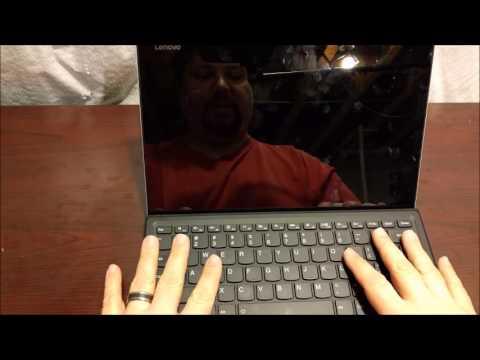 Lenovo Miix 510 Video Review
