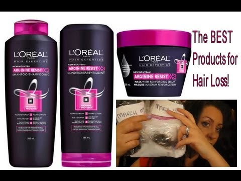 the best drugstore product for hair loss/hair fall! 2 month