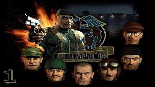 Commandos - Hinter feindlichen Linien | PC/Gameplay/Full HD | Pyro Studios | 1998