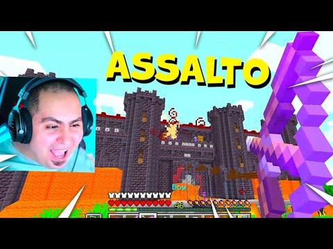 LYON ASSALTA IL CASTELLO DI ALEX SU MINECRAFT!!