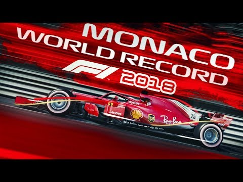 F1 2018 Game - MONACO WORLD RECORD LAP