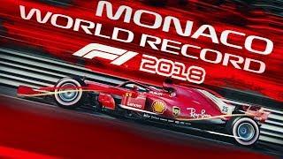F1 2018 Game - MONACO WORLD RECORD LAP
