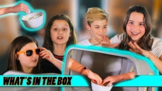 What's In The Box? ft. Avi and London | Annie LeBlanc & Hayley LeBlanc