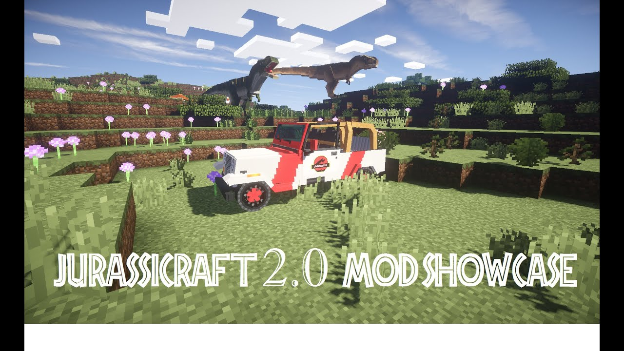 JurassiCraft 2 0 Full Release Mod Showcase PART 1: Fossil Ores and Lab  Equipment!