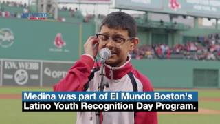 Download Video El Mundo Boston   Sebastian Medina  - National Anthem - LYRD 2017 MP3 3GP MP4
