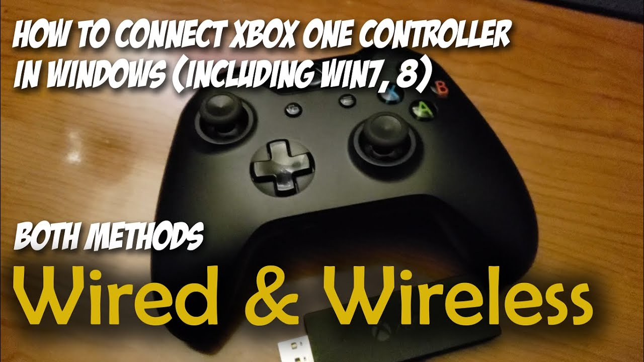 How To Connect Xbox One Controller Wired & Wireless To PC