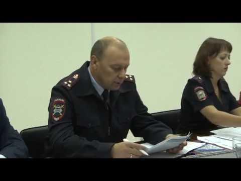 Члены Общественного совета заслушали начальника УГИБДД УМВД России по Томской области
