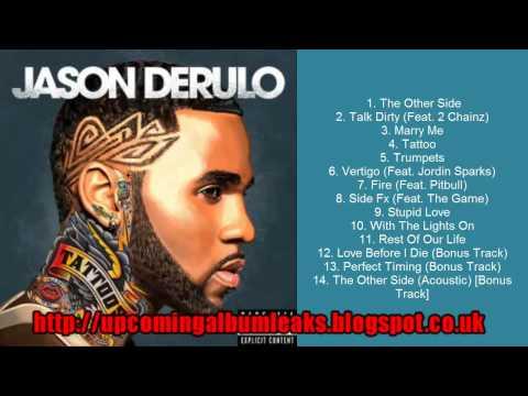 "[HOT RELEASE]Jason Derulo ""Tattoos"" Album Download[MP3 DELUXE]"