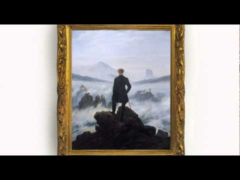 Wanderer Above the Mist by Caspar David Friedrich