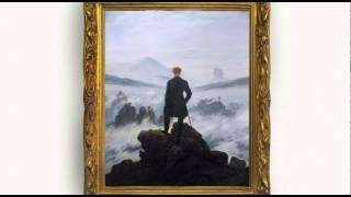 Wanderer Above the Mist by Caspar David Friedrich