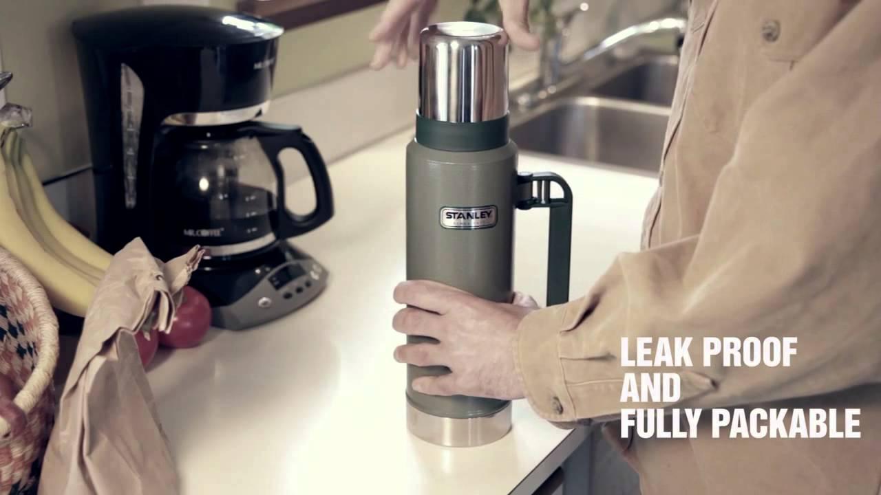 Stanley Classic Ultra 1.4QT Vacuum Bottle - YouTube