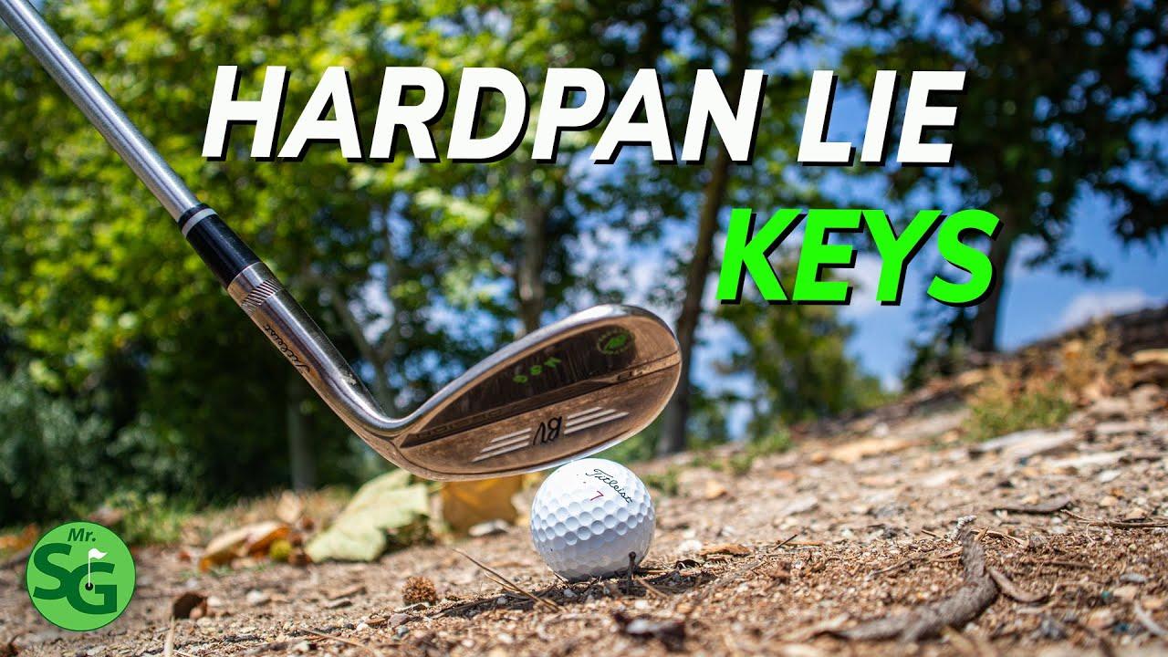 Two Ways to Golf off Hardpan Lies