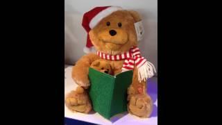 Animated 12 Santa Bear Reads Twas The Night Before Christmas