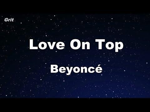 Love On Top - Beyoncé Karaoke 【No Guide Melody】 Instrumental