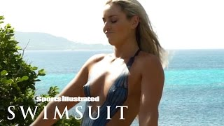 Lindsey Vonn's Sexy Body Paint | Outtakes | Sports Illustrated Swimsuit