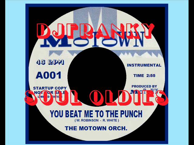 INSTRUMENTAL SOUL - ( The Motown Orch. - You Beat Me To The Punch )