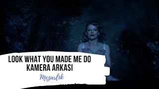 Look What You Made Me Do - Kamera Arkası