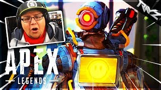 CRAZY NEW APEX LEGENDS BATTLE ROYALE REACTION! COULD THIS BEAT FORTNITE? (New Free To Play BR)