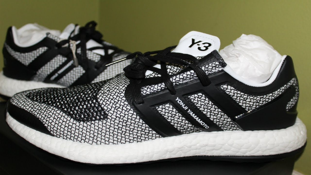 ea466ff192d7e Adidas Y-3 Pure Boost Unboxing Review