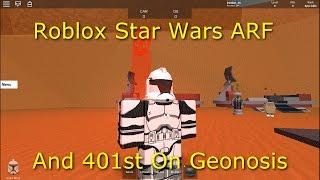 Roblox Star Wars ARF und 401. auf Geonosis