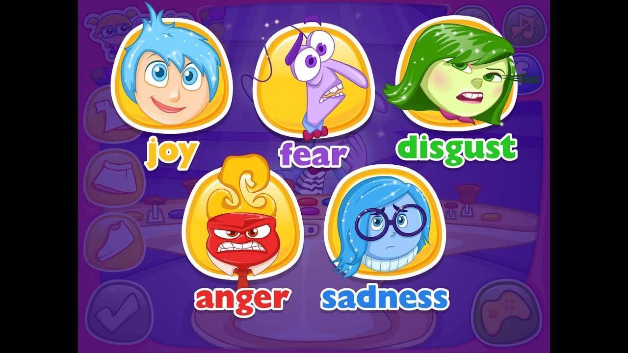 Video Game - Riley's Inside Out Emotions - Cutezee.com ... Cutezee