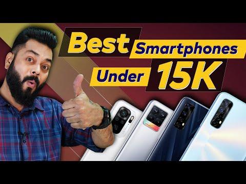 Top 5 Best Mobile Phones Under ₹15000 Budget ⚡ April 2021