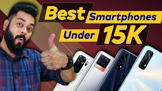 Top 5 Best Mobile Phones Under ₹15000 Budget ⚡ April 2021