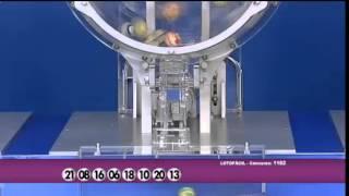 Resultado da Lotofácil concurso 1182 dia 14/03/2015 (Momento da Sorte - RedeTV)
