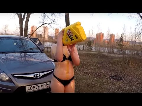 What Russian girl are ready for to get an IPhone (English Subtitles)
