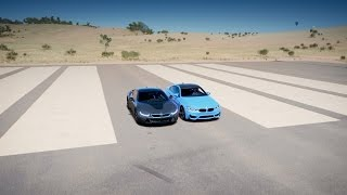 vuclip BMW i8 vs BMW M4 - DRAG RACE! Forza Horizon 3