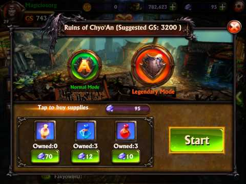 Eternity Warriors 3 V1.2.0 God Mode Unlimited Gem