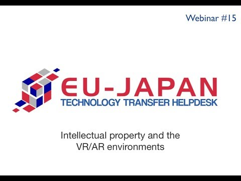 Webinar # 15: Intellectual property and the VR/AR environments