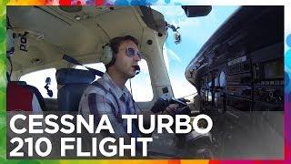 Cessna Turbo Centurion 210 Flight