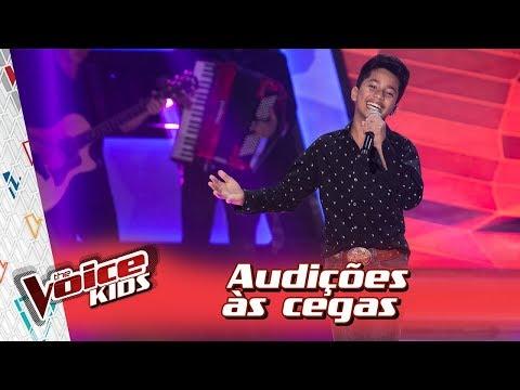 Augusto Michel canta 'Estrada da Vida' na Audição – 'The Voice Kids Brasil' | 3ª Temporada