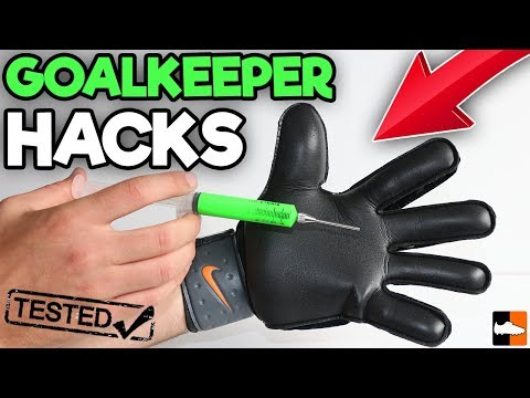 Goalkeeper Hacks Tested!! 🧤⚽ How To...
