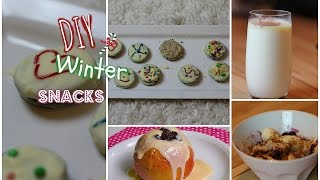 DIY WINTER SNACKS & DRINKS! QUICK AND EASY!! ♡ ##23DAYSOFCHRISTMAS Thumbnail