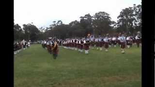 Brigadoon Massed Bands Opening Ceremony 2012.wmv