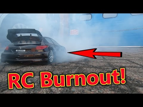Front Wheel Drive RC Burnout Car SMOKE & BLOWOUT