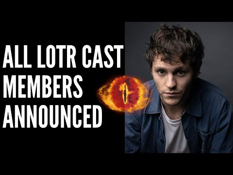 All LOTR Cast Members Announced