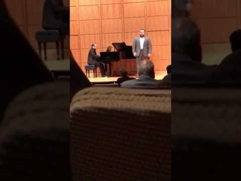 Aaron Short Recital Part 1
