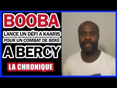 Booba lance un défi a Kaaris pour un combat de boxe a Bercy