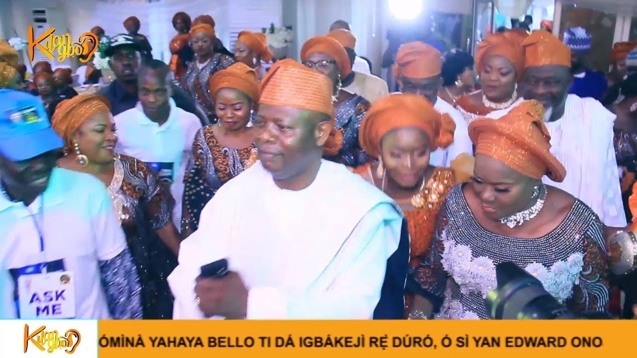 Download Kwam1, Fathia , Odunlade, Ogogo, At Veteran actor Yinka Quadri's 60th Birthday
