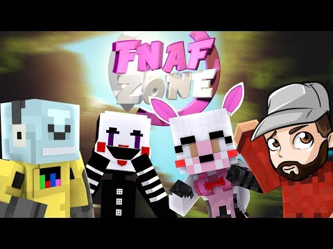 Minecraft Fnaf Zone - MimiMangle & Puppet Join Mitch for a livestream!