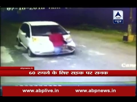 Offensive car driver drags Godhra-Vadodara toll plaza employee for half km