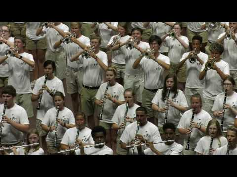 Australian National Anthem Performed By The Marching Band Division