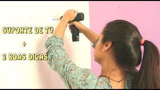COMO INSTALAR SUPORTE DE TV + DICAS - S.O.S. ISA