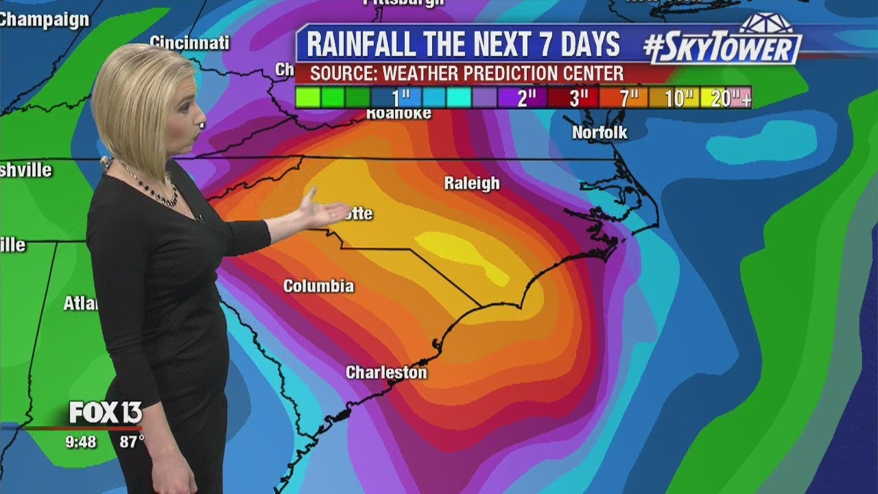 florence update tropical weather forecast september 15 2018