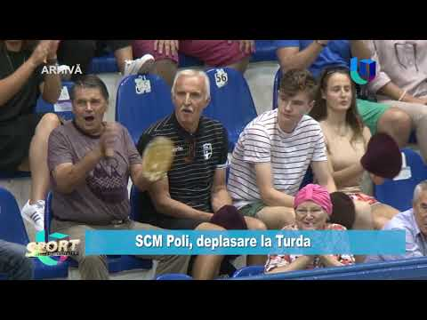 TeleU: SCM Poli, deplasare la Turda