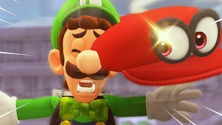Luigi's Balloon World but some funny stuff happens